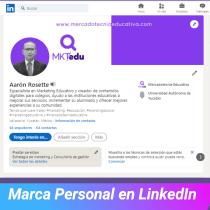 Mi Proyecto del curso: LinkedIn: construye tu marca personal . Un proyecto de Br, ing e Identidad, Redes Sociales y Marketing Digital de Aarón Rosette Moreno - 19.08.2021