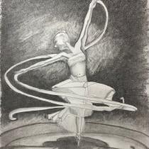 My project in Figure Drawing for Beginners course. A Bildende Künste, Skizzenentwurf, Bleistiftzeichnung, Zeichnung, Realistische Zeichnung und Anatomische Zeichnung project by David BOUCHER - 20.08.2021