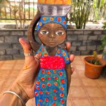 Mi pequeña chica africana. Un progetto di Character Design, Design di giocattoli , e Art To di malamairechrystel - 20.08.2021