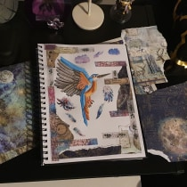 My project in Animal Illustration: Capturing Wildlife in a Sketchbook course. A Illustration, Collage, Sketchbook, and Naturalist Illustration project by Tammy-Ann Husselman - 08.20.2021