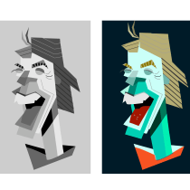 Mi Proyecto del curso: Ilustración digital con formas geométricas para principiantes. Un projet de Illustration, Illustration vectorielle et Illustration numérique de pablo_agdl - 21.08.2021