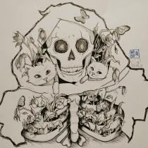 My project in Daily Sketching for Creative Inspiration course. Um projeto de Ilustração, Esboçado, Criatividade, Desenho e Sketchbook de Eza Wong - 22.01.2021