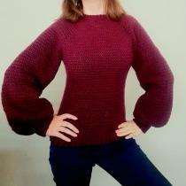 Mi Proyecto del curso:  Top-down: prendas a crochet de una sola pieza. A Mode, Modedesign, Weben, DIY und Crochet project by yitivi - 25.08.2021