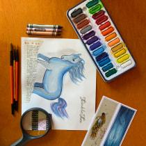 Mi Proyecto del curso: Ilustración de animales: dibuja la vida salvaje en tu sketchbook. Un proyecto de Ilustración, Collage, Sketchbook e Ilustración naturalista de Marcela Pacheco Weber - 27.08.2021