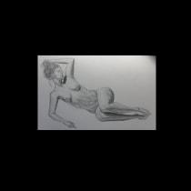 My project in Dynamic Figure Drawing course - Konstantina . A Bildende Künste, Skizzenentwurf, Bleistiftzeichnung, Zeichnung und Realistische Zeichnung project by Konstantina Gkana - 27.08.2021
