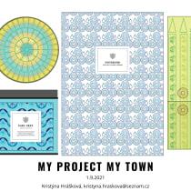 My project in Creative Patterns for Graphic Design course. A Design, Illustration, Produktdesign und Musterdesign project by Kristýna Hrášková - 01.09.2021