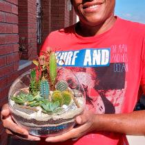 Los Cactus. Un projet de Design d'intérieur, Pa, sagisme, Décoration d'intérieur, DIY , et Art floral et végétal de Juan Antonio de Jesús Báez - 02.10.2021