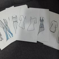 Mi Proyecto del curso: Introducción al diseño de moda. A Mode und Modedesign project by Arisbeth de Anda - 04.09.2021