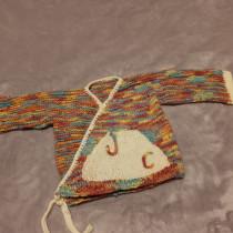 chambrita para bebé. A Fashion, Fashion Design, DIY, and Crochet project by ivone.martinez.vazquez - 09.07.2021