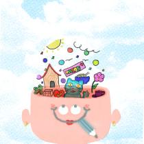 Mi Proyecto del curso: Ilustración original de tu puño y tableta. Un proyecto de Ilustración, Dibujo, Ilustración digital y Dibujo digital de wenli_7blast - 22.08.2021