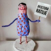 My project in Paper Mache for Beginners: Sculpt a Colorful Character course. Un progetto di Character Design, Design di giocattoli , e Art To di Marta Dutka - 11.09.2021