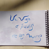 Mi Proyecto del curso: Cuaderno artístico para viajes imaginarios. Un proyecto de Bellas Artes, Creatividad, Dibujo y Sketchbook de abrahanveronika - 13.09.2021