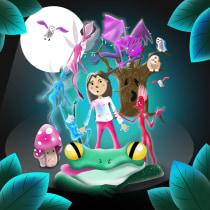 El Rapto de Elena (The Rapture of Elena by the Spiritual Folk). Un projet de Illustration, Design graphique, Illustration vectorielle et Illustration numérique de Juan José Vargas Muñoz - 13.09.2021