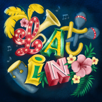 My project in Custom Letter Design with Procreate course. A Lettering, Digitales Lettering und 3-D-Lettering project by dorenda.bloemhard - 12.09.2021