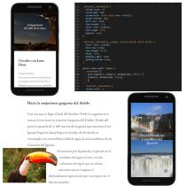 Mi Proyecto del curso: Layout web con CSS Grid, Flexbox y otras técnicas modernas. Un proyecto de Diseño Web, Desarrollo Web, CSS y HTML de Daniel Franco - 31.08.2021