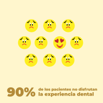Mi Proyecto del curso: Animación exprés para redes sociales con After Effects - Experiencia de los pacientes al ir al dentista. Un proyecto de Motion Graphics, Animación, Redes Sociales, Animación de personajes, Animación 2D, Stor, board, Creación, edición para YouTube y Diseño para Redes Sociales de Marco Vásquez - 12.09.2021