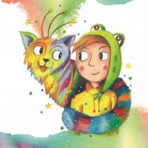 Mein Kursprojekt: Illustriere und schreibe ein Kinderbuch. Um projeto de Ilustração, Design de personagens, Design editorial, Escrita, Desenho, Stor, board, Ilustração infantil e Narrativa de Lisa Brenk - 15.09.2021