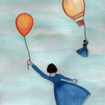 Meu projeto do curso: Cores na aquarela: descubra sua personalidade cromática. A Illustration, Fine Art, Painting, Watercolor Painting, and Color Theor project by Simone Gomes Siqueira - 09.15.2021