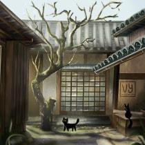 My project in Cinematic Digital Illustration with Photoshop course. Un proyecto de Ilustración, Ilustración digital y Concept Art de Voon Yin Wong - 17.09.2021