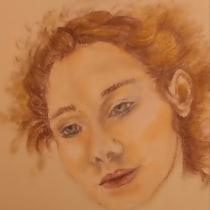 My project in Portrait Sketchbooking: Explore the Human Face course. Un proyecto de Bocetado, Dibujo, Dibujo de Retrato, Dibujo artístico y Sketchbook de jerriej - 16.09.2021