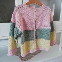 Il mio progetto del corso: Top-down: capi interi all'uncinetto. A Mode, Modedesign, Weben, DIY und Crochet project by mariateresalatella - 20.09.2021