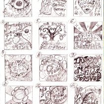 My project in The Art of Record Covers: Illustration Meets Lettering course. Um projeto de Ilustração, Design gráfico, Caligrafia e Lettering de Irina Baryshnikova - 22.09.2021