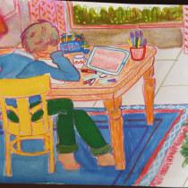 Mi Proyecto del curso: Sketchbook para explorar tu estilo de dibujo. A Illustration, Skizzenentwurf, Kreativität, Zeichnung, Aquarellmalerei, Sketchbook und Gouachemalerei project by Guido Vitale - 23.09.2021