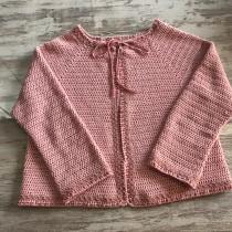 Mi Proyecto del curso:  chaqueta de crochetTop-down: prendas a crochet de una sola pieza. A Mode, Weben, DIY und Crochet project by maribelpercar - 24.09.2021