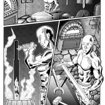 Meu projeto do curso: Técnicas de arte-final para quadrinhos e ilustração. Un proyecto de Ilustración, Bellas Artes, Pintura, Cómic e Ilustración con tinta de Bernardo Pulgatti - 28.09.2021