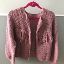 Mi primer top-down. Un progetto di Moda, Fashion Design, Tessuto, DIY , e Uncinetto di Valeria Sorrentino - 30.09.2021
