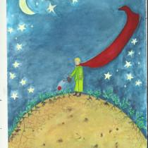 Meu projeto do curso: Ilustração infantil com aquarela. Un progetto di Illustrazione, Belle arti, Pittura, Disegno, Pittura ad acquerello e Illustrazione infantile di patriciacarvalhoilustracao - 30.09.2021