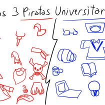 Mi Proyecto del curso: Los Cuatro Piratas Universitarios. Un proyecto de Ilustración, Diseño de personajes, Ilustración digital, Ilustración infantil y Narrativa de yisusluneic567678 - 28.09.2021