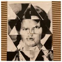 My project in Geometric Collage course. Un proyecto de Bellas Artes, Collage y Papercraft de Safinaz Osman - 03.10.2021