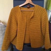 My project in  Top-Down: One-Piece Crocheted Garments  course. Un progetto di Moda, Fashion Design, Tessuto, DIY , e Uncinetto di missmarble - 10.10.2021