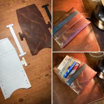 Meu projeto do curso: Desenho de acessórios em couro sem costuras. Un proyecto de Diseño, Diseño de complementos, Artesanía, Moda y Costura de Mauro Neto - 07.10.2021
