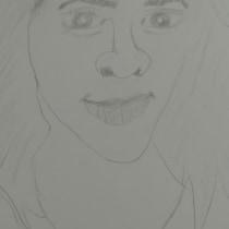 Meu projeto do curso: Caderno de retratos: explore o rosto humano. Um projeto de Esboçado, Desenho, Desenho de Retrato, Desenho artístico e Sketchbook de Dainler Ribeiro - 12.10.2021