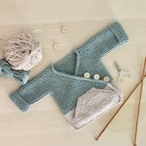 Mi Proyecto del curso: Tejido de punto para prendas infantiles. A Fashion, Fashion Design, Fiber Arts, DIY, and Crochet project by LAURA REYES PEREZ - 10.07.2021