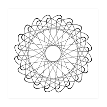 Spirograph. A Motion Graphics, Multimedia und JavaScript project by galor_nimrod - 16.10.2021