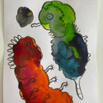 My project in Daily Sketching for Creative Inspiration course. Um projeto de Ilustração, Esboçado, Criatividade, Desenho e Sketchbook de Olga Rutkowiak-Krawczyk - 20.10.2021