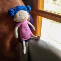 Meu projeto do curso: Criação de bonecos de pano para iniciantes. A Character Design, Crafts, To, and Design project by Mia Assumpção - 10.27.2021