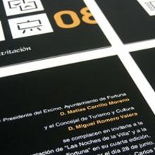 Las Noches de la Villa. Un proyecto de Diseño, Ilustración y Publicidad de Lemonside - 20.10.2009