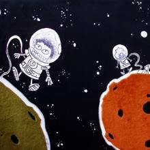 Otras técnicas. A Illustration project by Ivan Retamas - 13.02.2010
