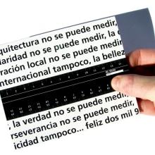 Medir. Un proyecto de Diseño y Publicidad de Alejandro Mazuelas Kamiruaga - 22.02.2010