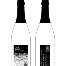 Concurso de Diseño de Etiquetas Contraetiquetas y Cápsulas para Cava BODEGAS COVIÑAS S.C.V.. Un proyecto de Diseño y Publicidad de Alejandro Mazuelas Kamiruaga - 24.02.2010