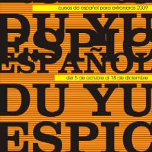 DU YU ESPIC. Un proyecto de Diseño y Publicidad de Alejandro Mazuelas Kamiruaga - 24.02.2010