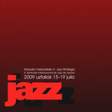 Jazzautz. Un proyecto de Diseño y Publicidad de Alejandro Mazuelas Kamiruaga - 24.02.2010