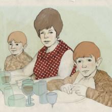 Retrato de Familia. Un proyecto de Ilustración de anne - 21.04.2010