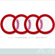Audi - un automóvil seguro. Un proyecto de Diseño, Publicidad y Fotografía de Felipe Ruiz - 27.07.2010