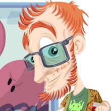 Characters. Un proyecto de Ilustración de Jorge de Juan - 04.08.2010