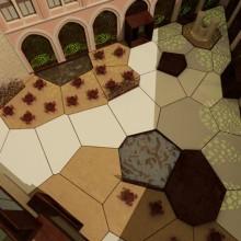Castillo de Belmonte - PFC10. Un proyecto de Diseño, Instalaciones y 3D de Ainara Fassi - 03.09.2010